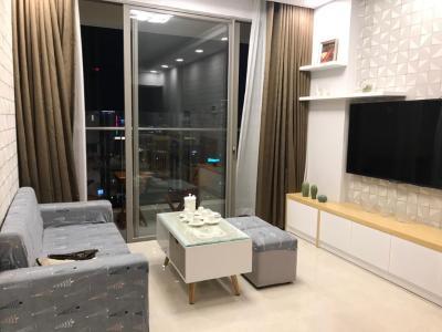 Bán căn hộ Masteri Millennium 2PN, block B, diện tích 78m2, đầy đủ nội thất, view thành phố