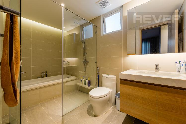 Phòng tắm 1 Căn hộ Sadora Sala Đại Quang Minh 2PN đầy đủ nội thất, view hồ bơi và công viên