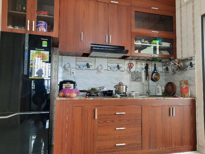 Nhà bếp căn hộ Stown Thủ Đức Căn hộ Stown Thủ Đức nội thất đầy đủ diện tích 61m2.