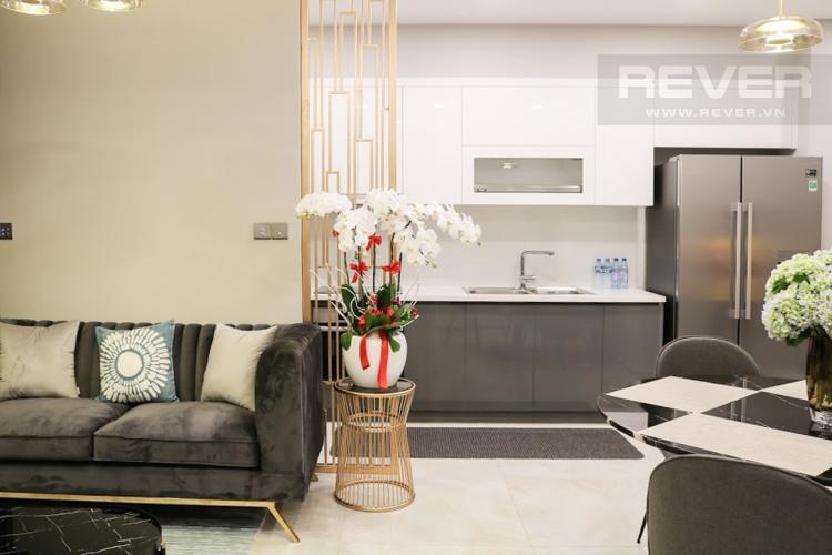 Nhà Bếp Bán hoặc cho thuê căn hộ Vinhomes Golden River 2PN, tầng trung, đầy đủ nội thất, view sông Sài Gòn