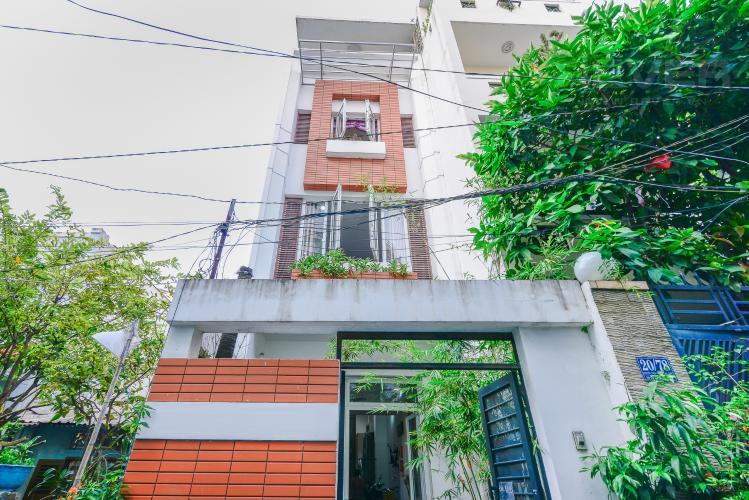 View Nhà Nhà phố 1 trệt, 3 lầu, 4 phòng ngủ có sân thượng hẻm đường Nguyễn Thiện Thuật