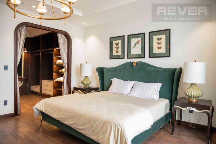 Phòng Ngủ 2 Căn hộ Vinhomes Central Park tầng cao, 4PN, đầy đủ nội thất