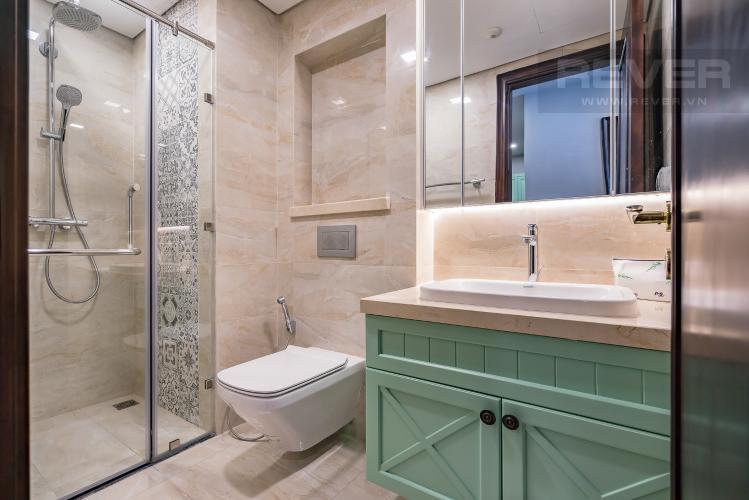 Phòng Tắm Bán căn hộ Vinhomes Golden River 1PN, tầng cao, đầy đủ nội thất, view sông thoáng mát