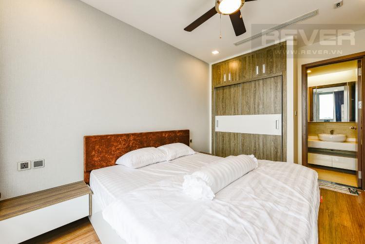 Phòng ngủ 1 Căn hộ Vinhomes Central Park 2 phòng ngủ tầng cao P7 đầy đủ tiện nghi