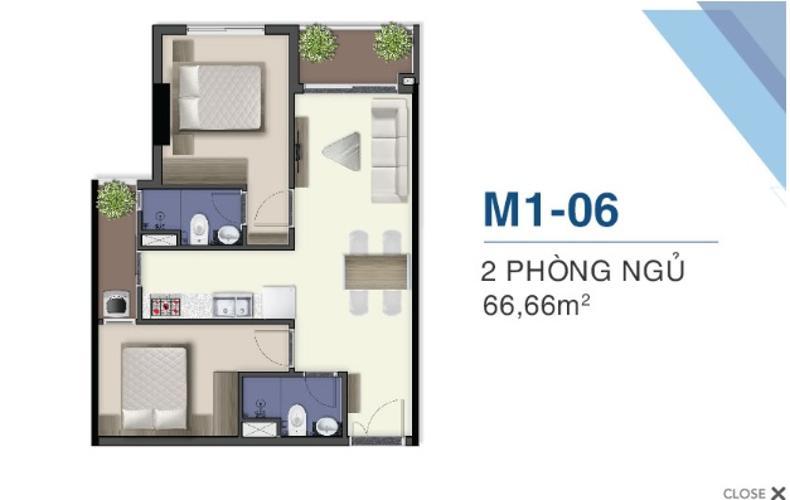 Bán căn hộ Q7 Saigon Riverside tầng cao, thuận tiện di chuyển sang Q.1