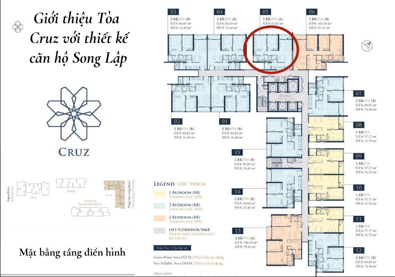 Screen Shot 2019-10-10 at 4.38.17 PM Bán căn hộ Feliz en Vista 2 phòng ngủ, tầng cao, tháp Cruz, diện tích 82m2, không có nội thất