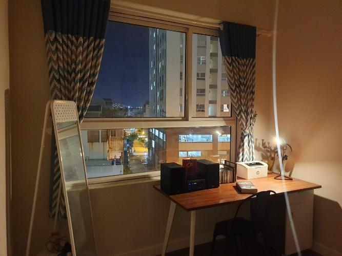 Phòng ngủ căn hộ Richstar, Tân Phú Căn hộ Richstar ban công hướng Đông bàn giao nội thất đầy đủ.