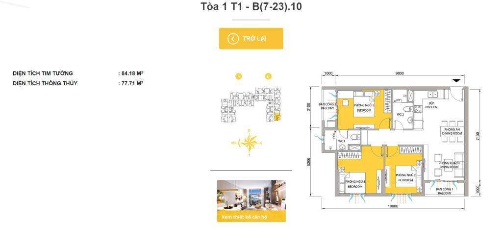 2-1.jpg Bán hoặc cho thuê căn hộ M-One Nam Sài Gòn, 77,71m2 3PN 2WC, đầy đủ nội thất