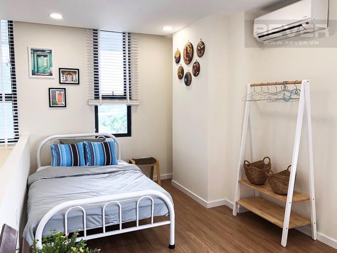 Tầng Lửng Bán căn hộ M-One Nam Sài Gòn 2 phòng ngủ, đầy đủ nội thất, thiết kế ban công nhỏ xinh