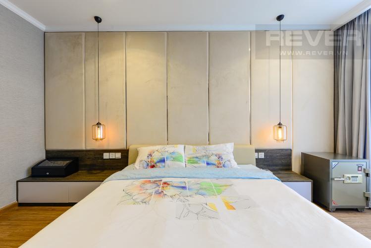 Phòng ngủ 1 Căn góc Vinhomes Central Park 3 phòng ngủ tầng cao L1 đầy đủ nội thất