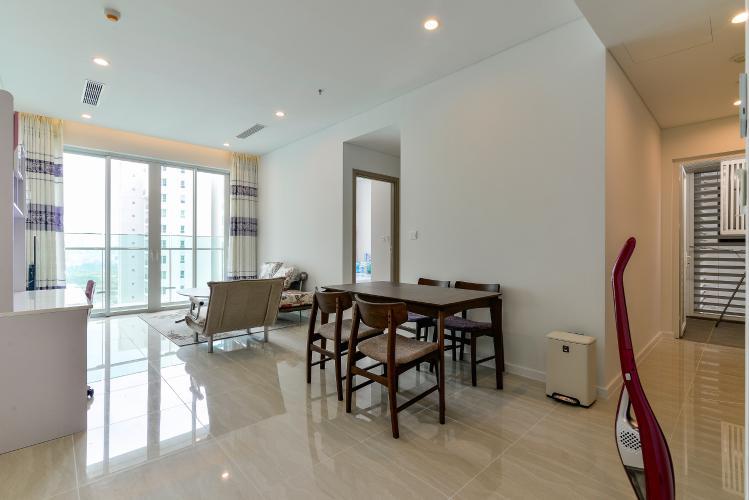 Cho thuê căn hộ Sadora Apartment hướng Đông Bắc 2PN 2WC, view hồ bơi, nội thất cao cấp