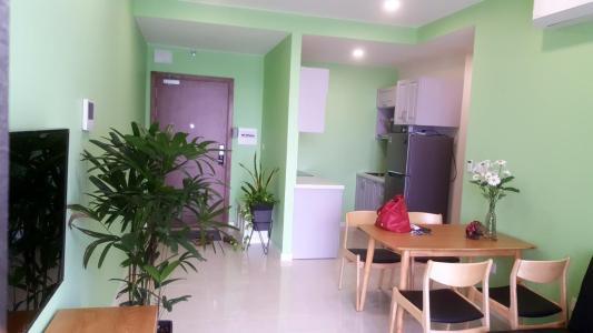 Bán căn hộ Masteri Millennium 1 phòng ngủ, Block A, diện tích 54m2, đầy đủ nội thất