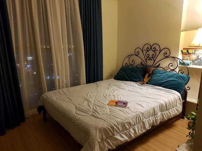 Phòng ngủ Masteri Millennium Quận 4 Căn hộ tầng cao Masteri Millennium nội thất sang trọng, view Q7.