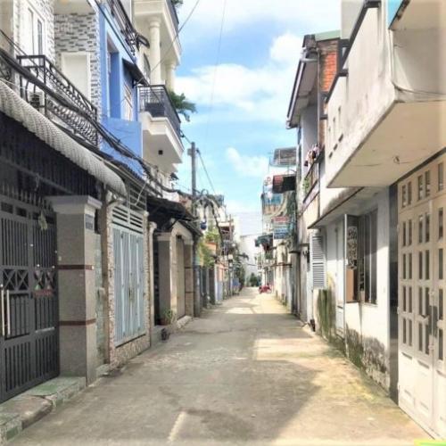 Đường nhà phố Nhà phố đường Nguyễn Tư Giản hướng Đông Nam, hẻm 5m thoáng rộng