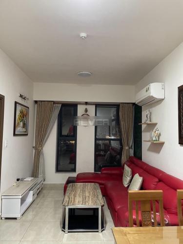 Phòng khách Cetana Thủ Thiêm, Quận 2 Căn hộ Cetana Thủ Thiêm tầng trung, đón view thành phố.
