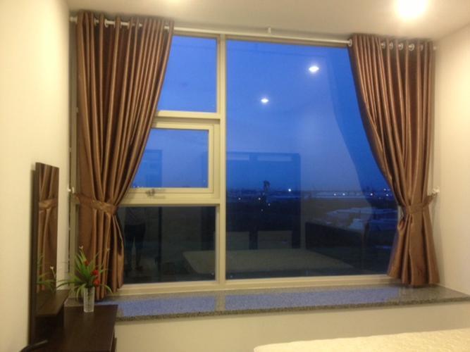 Phòng ngủ La Casa Căn hộ La Casa tầng 08 cửa chính hướng Đông Bắc, view sông cực đẹp