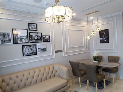 Cho thuê officetel Vinhomes Golden River 2PN, tháp The Aqua 3, đầy đủ nội thất