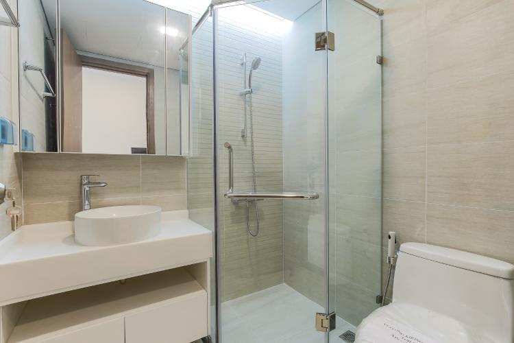 Phòng Tắm 2 Căn hộ Vinhomes Central Park 2 phòng ngủ tầng trung P3 view hồ bơi