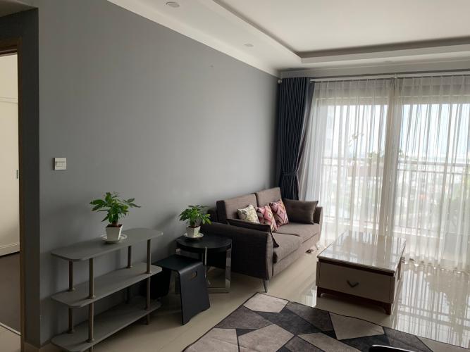 Phòng khách căn hộ The Sun Avenue Bán căn hộ tầng cao The Sun Avenue nội thất đầy đủ, ban công thoáng.