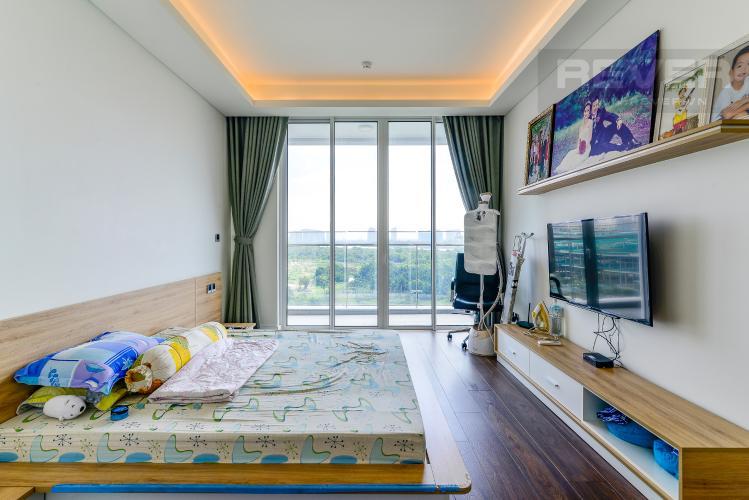 Phòng Ngủ 3 Bán hoặc cho thuê căn hộ Sarica Sala Đại Quang Minh 3PN, đầy đủ nội thất, view công viên và hồ bơi thoáng mát