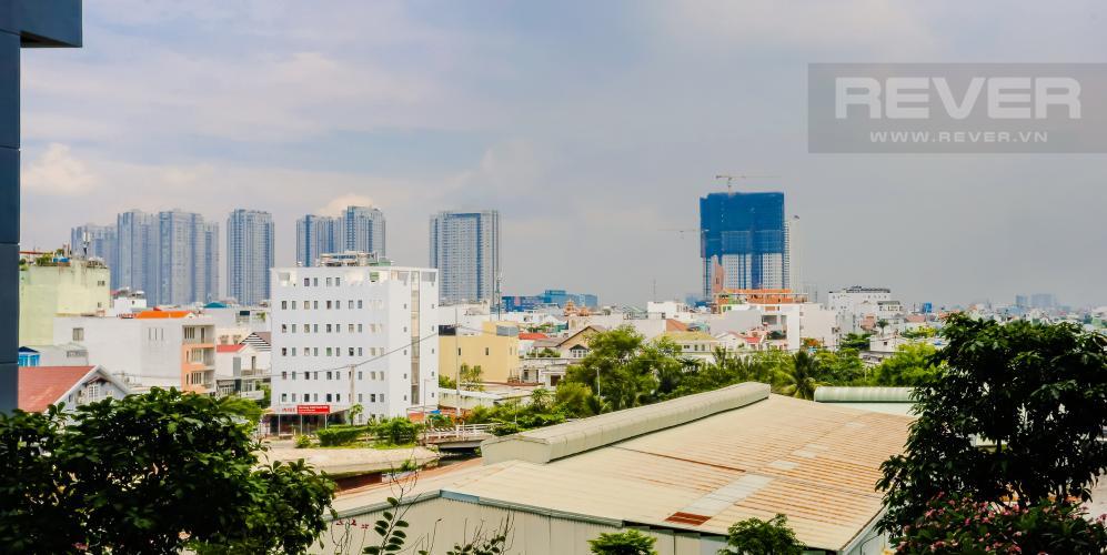 View Căn hộ M-One Nam Sài Gòn 1 phòng ngủ tầng thấp T2 nội thất đơn giản