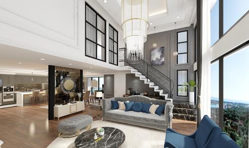 Bán căn hộ duplex Vista Verde 3PN, tháp Orchid, diện tích 119m2, bàn giao nhà thô