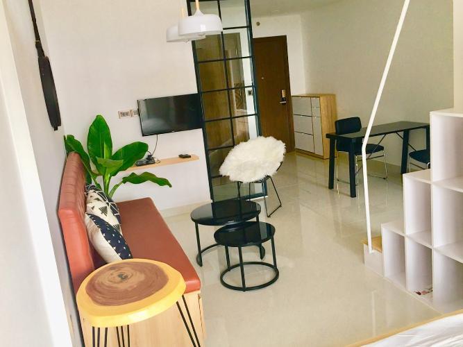 Căn hộ Saigon Royal, Quận 4 Căn hộ Office-tel Saigon Royal view sông thoáng mát, đầy đủ nội thất.