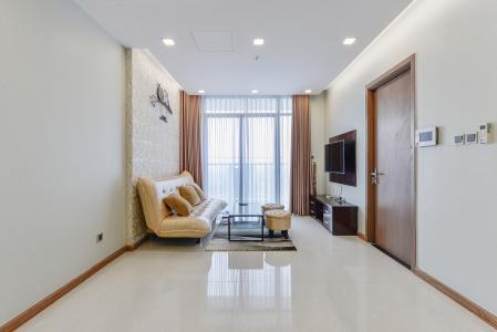 OfficeTel Vinhomes Central Park 2 phòng ngủ tầng cao P7 nội thất đầy đủ