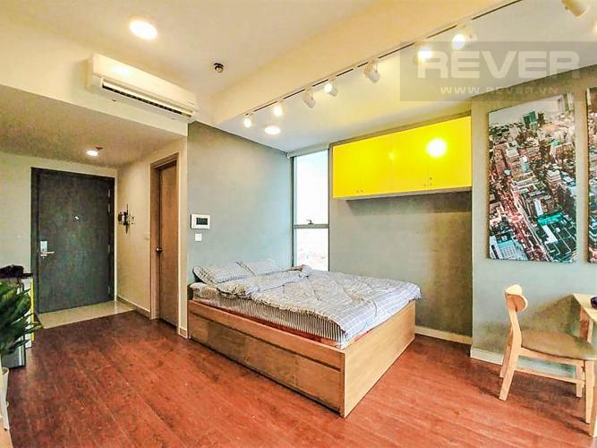Phòng Ngủ Cho thuê căn hộ RiverGate Residence 1PN, tầng thấp, tháp B, đầy đủ nội thất, view sông Sài Gòn