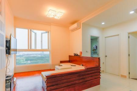 Căn hộ The Park Residence 2 phòng ngủ tầng cao B2 nội thất đơn giản