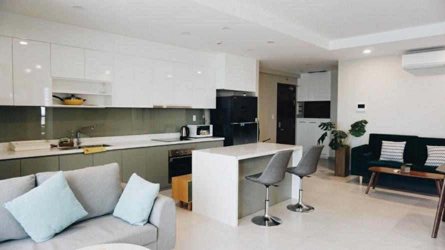 Cho thuê căn hộ The Gold View 3PN, tầng cao, đầy đủ nội thất