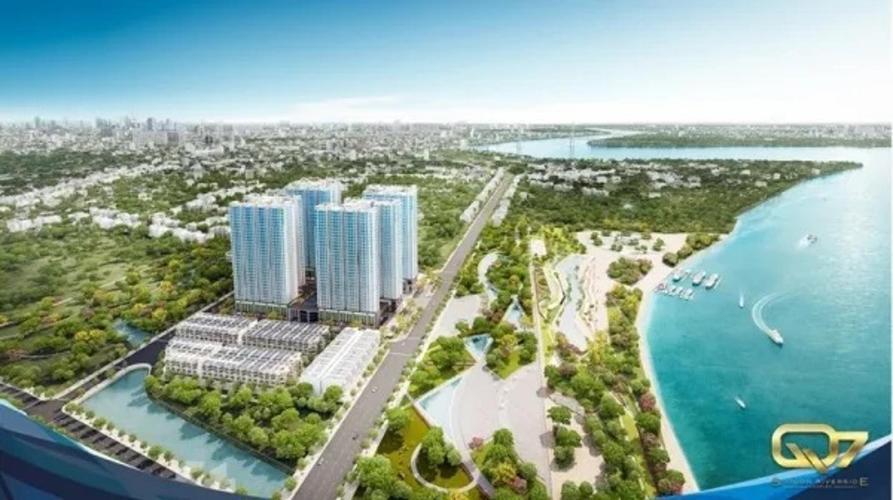 Bán căn hộ Q7 Saigon Riverside 2 phòng ngủ, diện tích 69m2, bàn giao nội thất cơ bản
