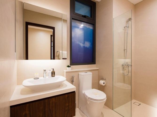 Phòng tắm One Verandah Quận 2 Căn hộ One Verandah tầng trung, thiết kế năng động.