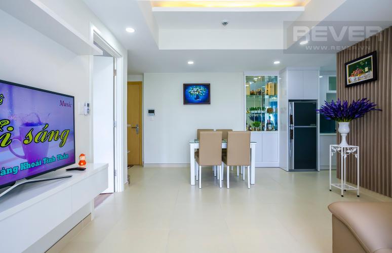 Tổng Quan Căn hộ Masteri Thảo Điền 2 phòng ngủ tầng thấp T5 view hồ bơi