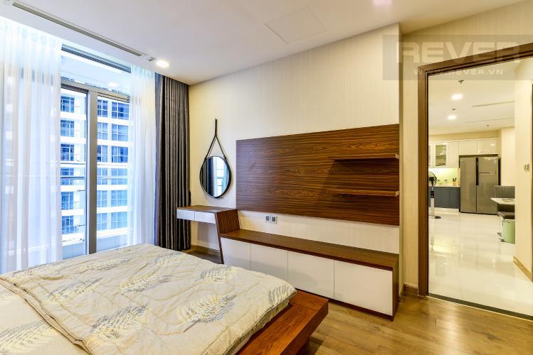 Phòng Ngủ 1 Căn hộ Vinhomes Central Park 2 phòng ngủ tầng trung P2 hướng Đông Bắc