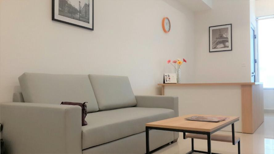 Cho thuê officetel RiverGate Residence tầng thấp tháp A, diện tích 33m2 - 1 phòng ngủ, đầy đủ nội thất