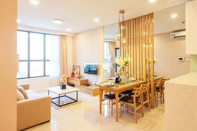 Căn hộ Icon 56 tầng cao đẩy đủ nội thất tiện nghi, view cực thoáng.
