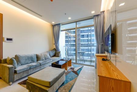 Căn hộ Vinhomes Central Park 2 phòng ngủ tầng thấp P4 view nội khu
