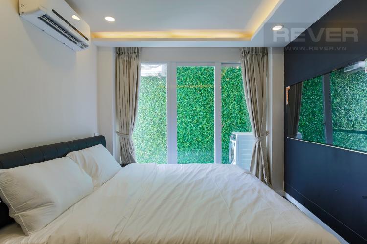 Phòng Ngủ 1 Căn hộ dịch vụ 1 phòng ngủ đường Trần Quang Diệu Quận 3