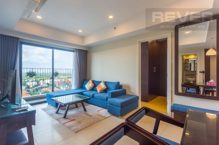 Tổng Quan Bán căn hộ Masteri Thảo Điền tầng trung, 2PN, đầy đủ nội thất