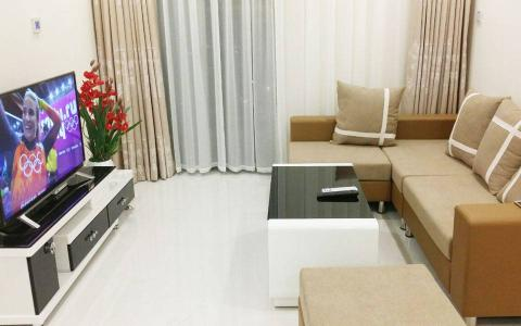 Bán hoặc cho thuê căn hộ Vinhomes Central Park 1PN, tầng thấp, đầy đủ nội thất, view sông Sài Gòn