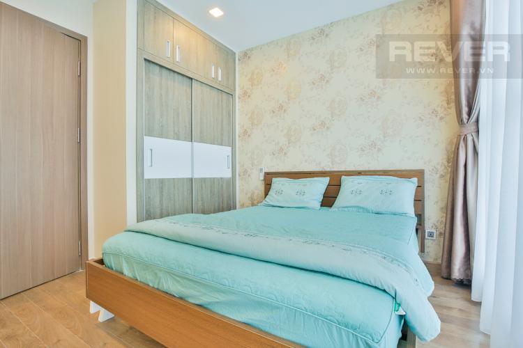 Phòng ngủ 1 Căn hộ Vinhomes Central Park tầng cao hướng Đông Bắc tháp Park 1