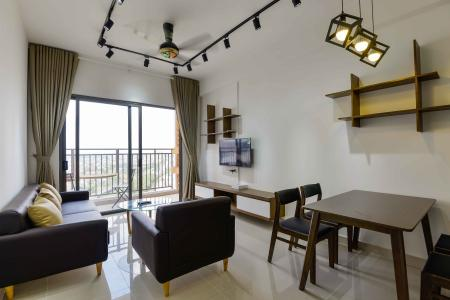Cho thuê căn hộ The Sun Avenue 3PN, hướng Đông Nam, đầy đủ nội thất, view sông mát mẻ