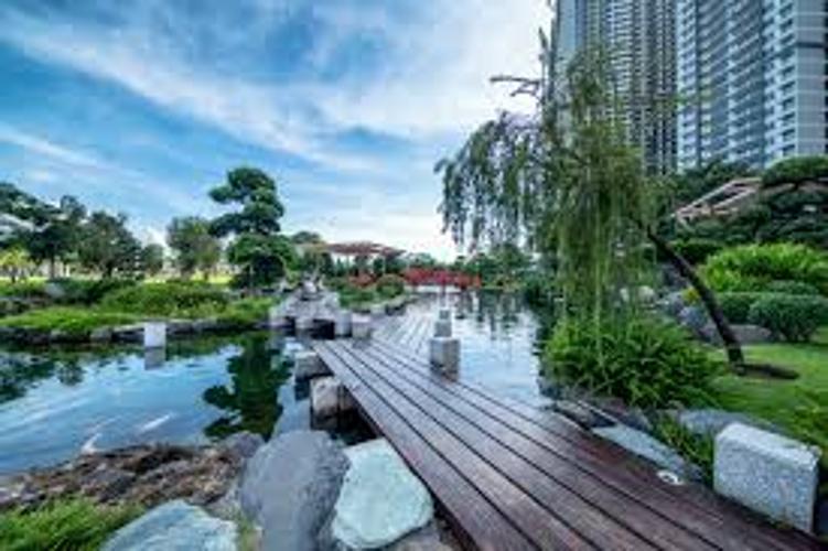 Tiện ích Vinhomes Central Park, Bình Thạnh Căn hộ Vinhomes Central Park đầy đủ nội thất, hướng Đông Nam.
