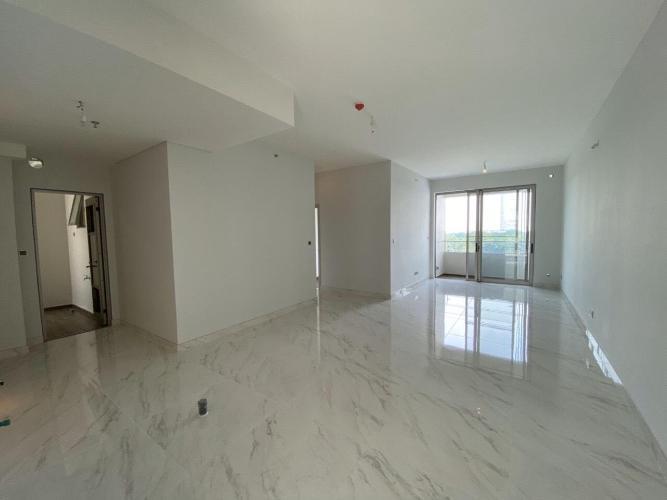 phòng khách căn hộ midtown Căn hộ Phú Mỹ Hưng Midtown nội thất cơ bản, view sông thoáng mát.
