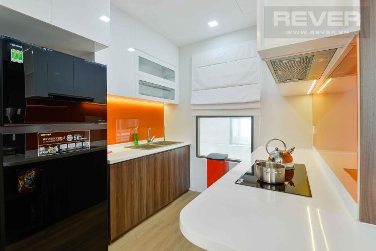 Bếp Cho thuê căn hộ The Sun Avenue 3PN, đầy đủ nội thất, view Landmark 81