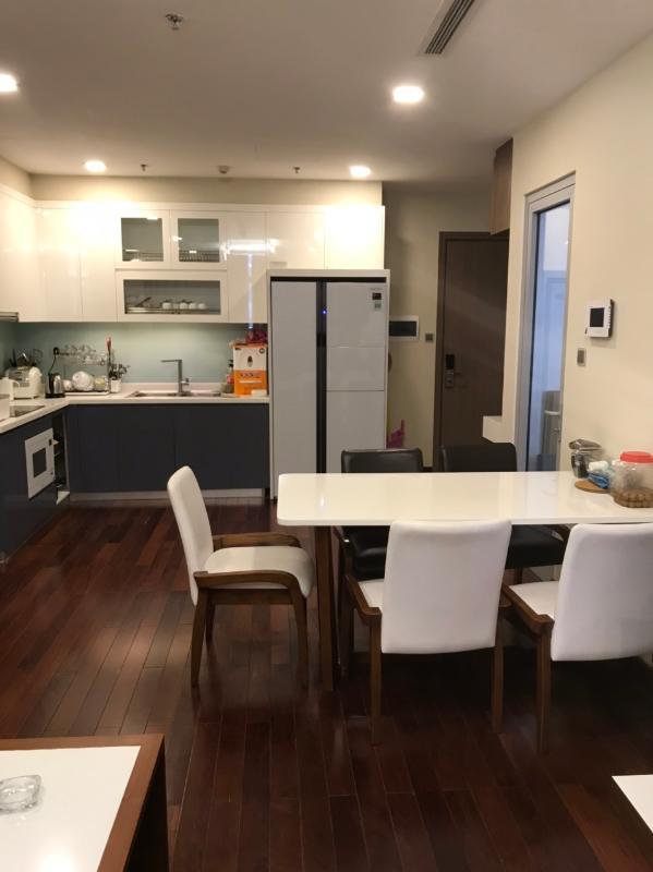 e6705ba18b2d6d73343c Cho thuê căn hộ Vinhomes Central Park 3PN, tháp Park 5, đầy đủ nội thất, hướng ban công Tây Nam