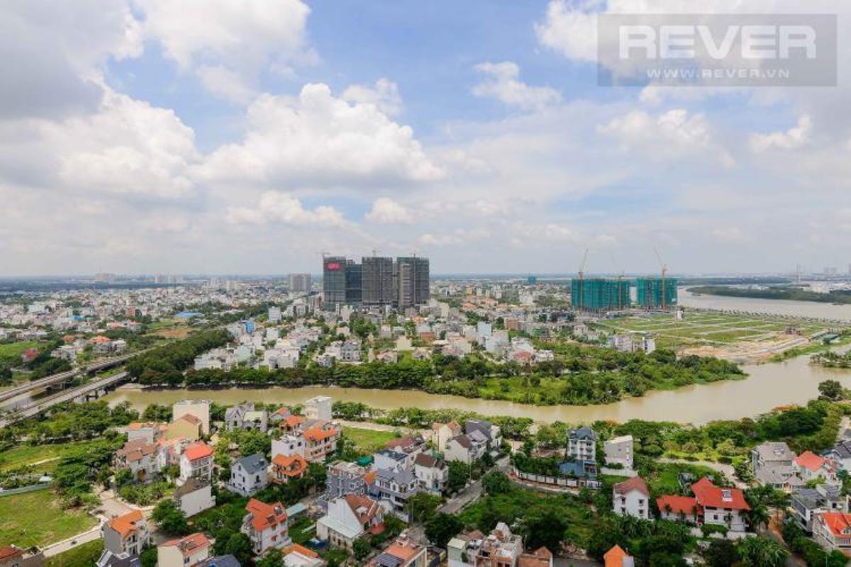 view the sun avenue Bán căn hộ The Sun Avenue 2PN, diện tích 75m2, đầy đủ nội thất, view sông thoáng mát
