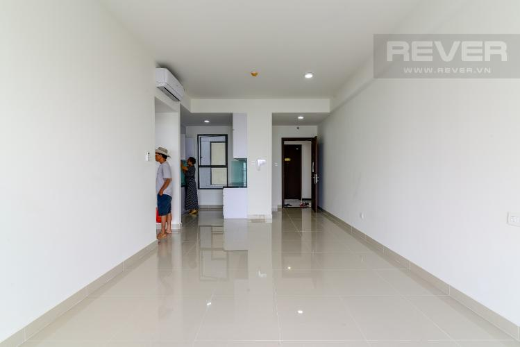Phòng Khách Cho thuê căn hộ The Sun Avenue 3PN, tầng cao, nội thất cơ bản, view sông thoáng mát