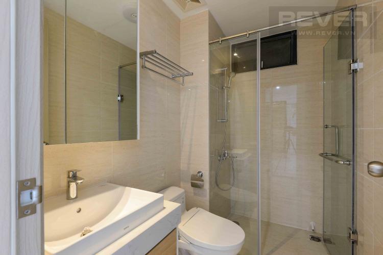Toilet 1 Bán căn hộ New City Thủ Thiêm 2PN, tháp Babylon, nội thất cơ bản, view hồ bơi